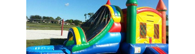Combo Unit Rental | Star Jumpers Bounce House Rentals | Fresno, CA | (559) 681-5824